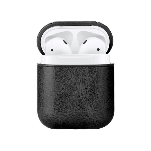 Apple AirPods Classic Leather Case Black