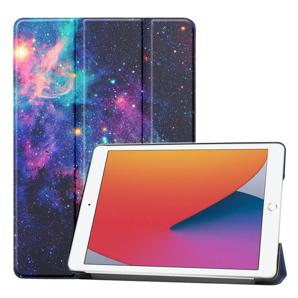 Tough On iPad 8 & 7th Gen 10.2 inch Case Smart Cover Galaxy