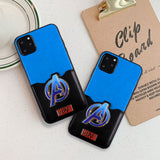 Marvel Avengers Phone case Back Slot Case