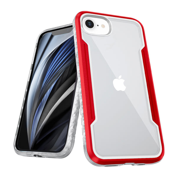 Tough On iPhone SE 2020 iPhone 8 & 7 Case Iron Shield Red