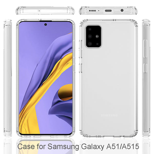 Samsung Galaxy A71 Case Tough On Slim Hybrid Clear