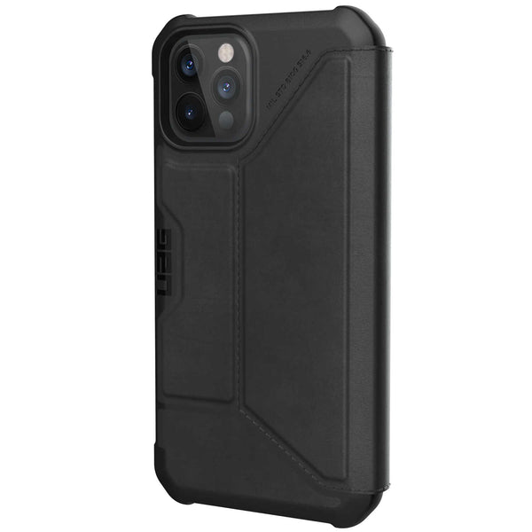 iPhone 12 / iPhone 12 Pro Case UAG Metropolis Leather Black
