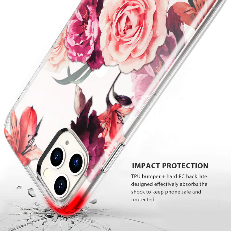 iPhone 11 Pro Case Tough On IMD Rose Flower