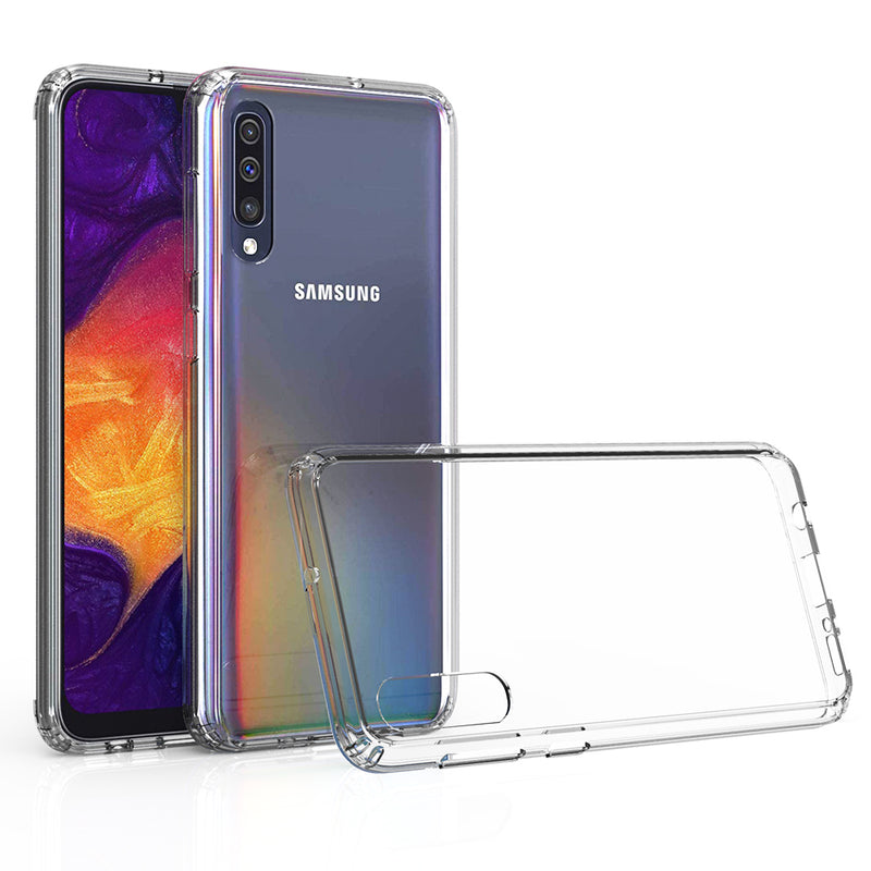 Samsung Galaxy A50 Case Tough On Slim Hybrid Clear