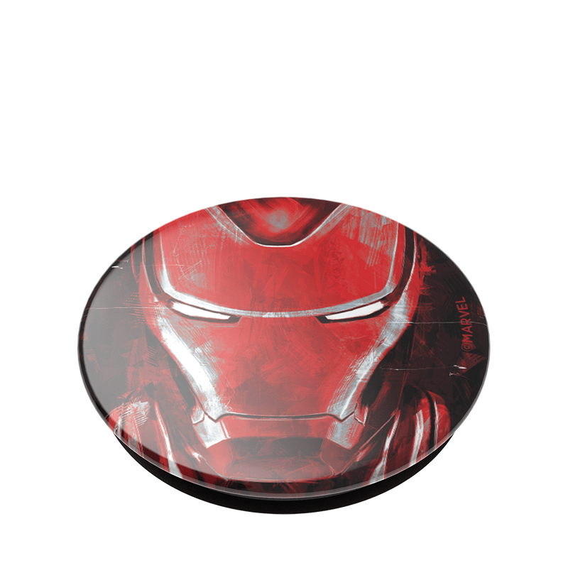 Popsockets Swappable PopGrip Iron Man Portrait