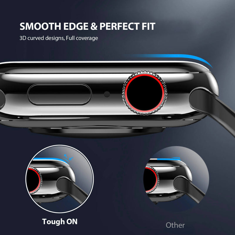 Tough On Apple Watch 42mm Screen Protector PMMA 2 Pack