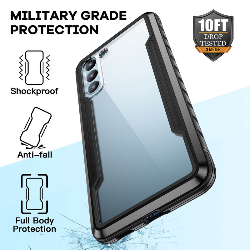 Tough On Samsung Galaxy S21 5G Case Iron Shield Black