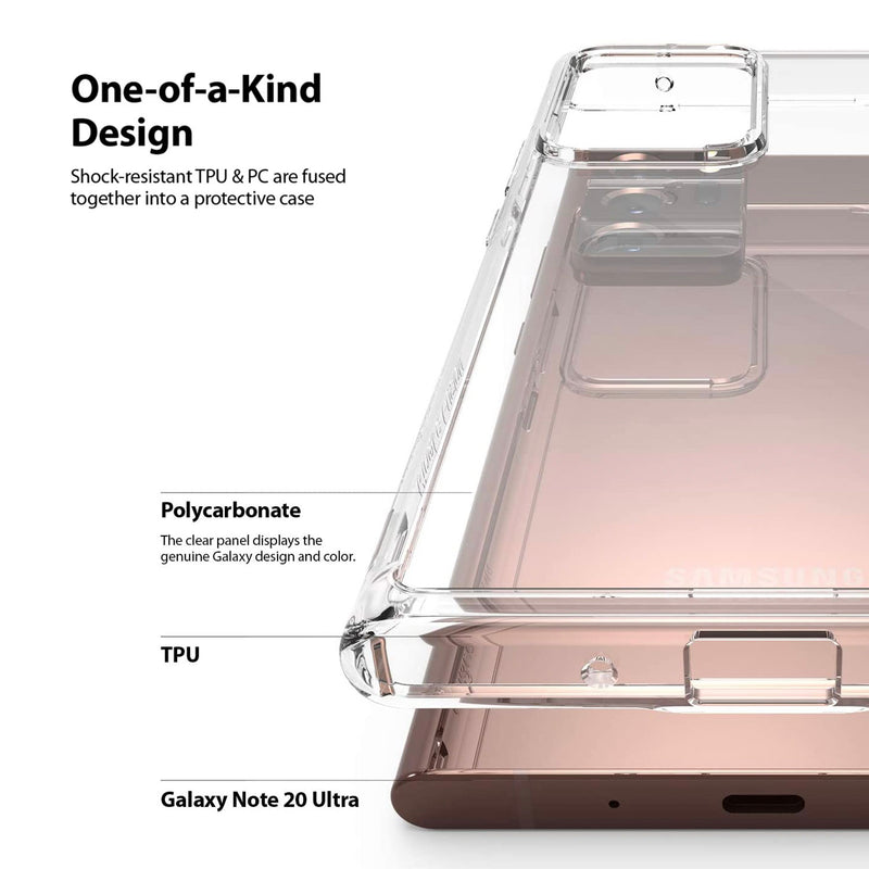 Samsung Galaxy Note 20 Ultra Case Ringke FUSION Clear