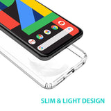 Google Pixel 4 Case Tough On Slim Hybrid Clear
