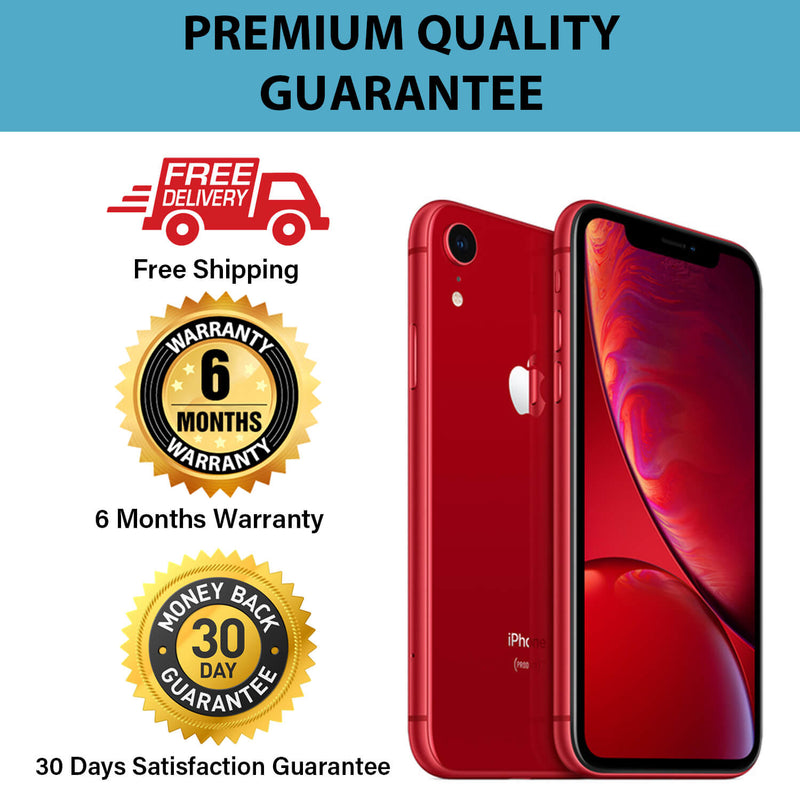 Pre-Owned A Grade iPhone XR Unlocked 64GB Red