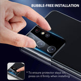 Tough On Samsung Galaxy S21 5G Tempered Glass Camera Protector 2 Pack