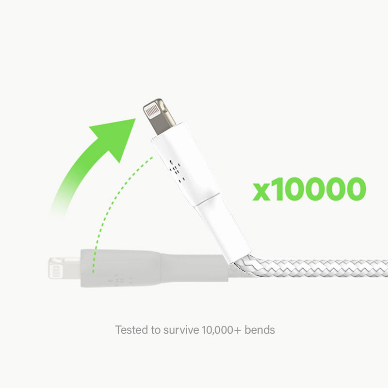 Belkin Boost Charge Braided USB-C to Lightning Cable 2m