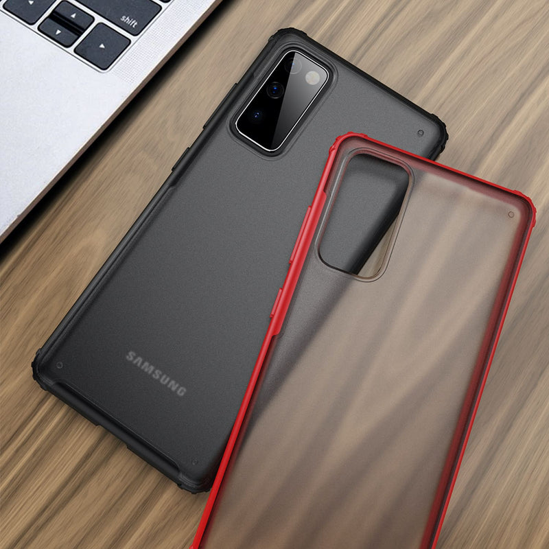 Tough On Samsung Galaxy S20 FE 5G Case Matte Clear Red