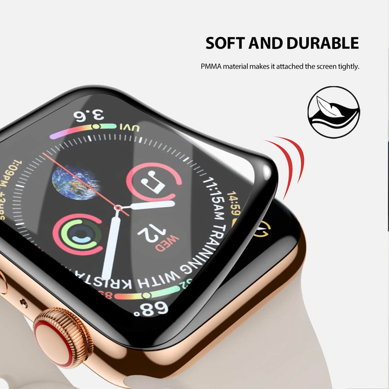 Tough On Apple Watch 40mm Screen Protector PMMA 2 Pack
