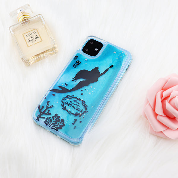 iPhone 11 Pro Disney IMD Flex Case Glow Mermaid