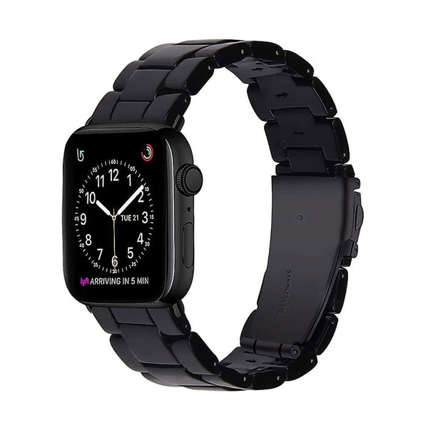 Tough On Apple Watch Band Resin 38mm & 40mm Black