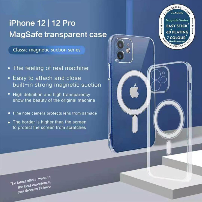 Tough On iPhone 12 MagSafe Slim TPU Case Black
