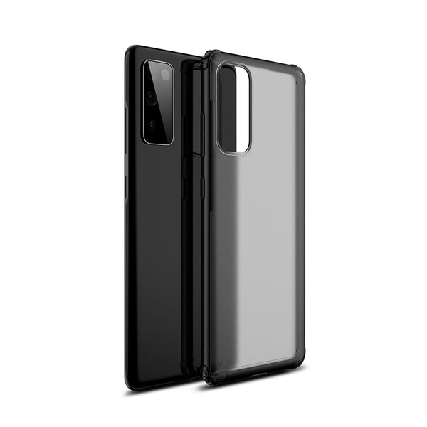 Tough On Samsung Galaxy S20 FE 5G Case Matte Clear Black