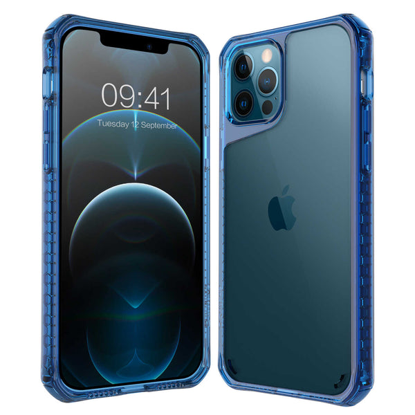 Tough On iPhone 12 Pro Max Case Tough Air Blue