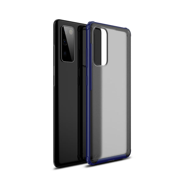 Tough On Samsung Galaxy S20 FE 5G Case Matte Clear Navy