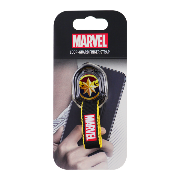 Marvel Captain Marvel Loop Guard Finger Strap