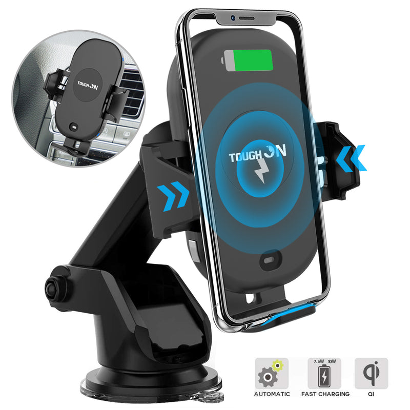 Tough On 15W Automatic Wireless Car Charging Mount