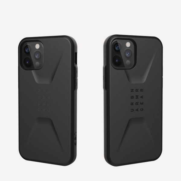 iPhone 12 / iPhone 12 Pro Case UAG Civilian Black