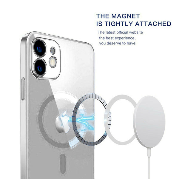 Tough On iPhone 12 MagSafe Slim TPU Case Clear
