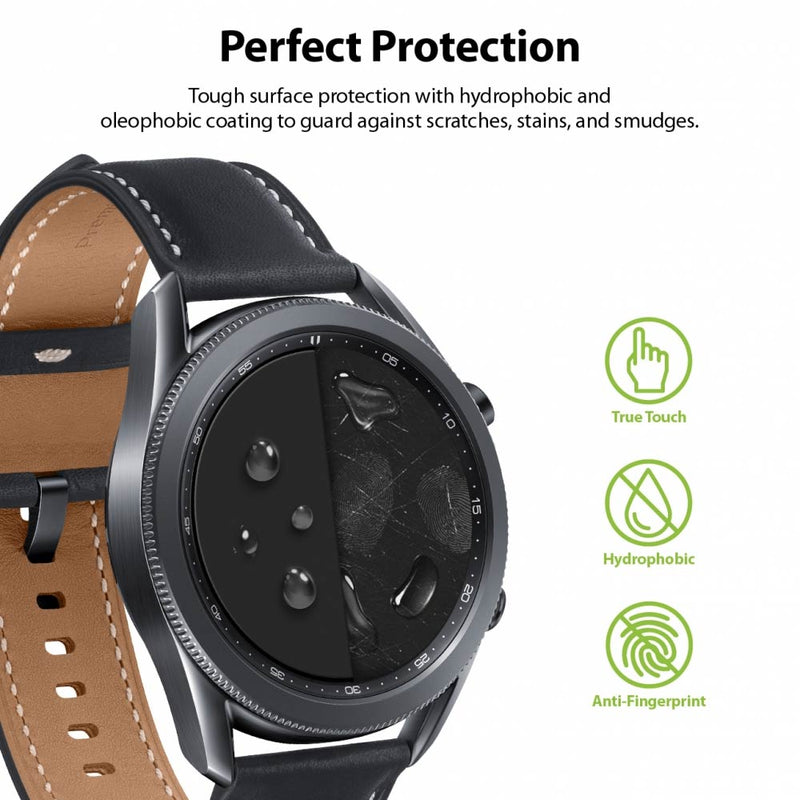 Ringke Galaxy Watch 3 45mm Easy Flex Screen Protector 3 Pack