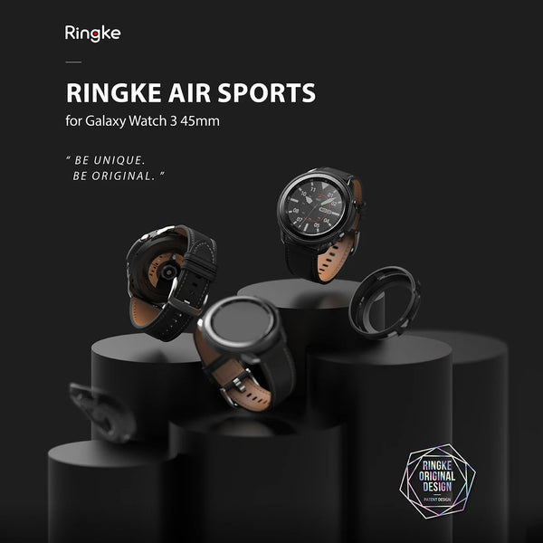 Ringke Galaxy Watch 3 45mm Case Air Sports Matte Clear