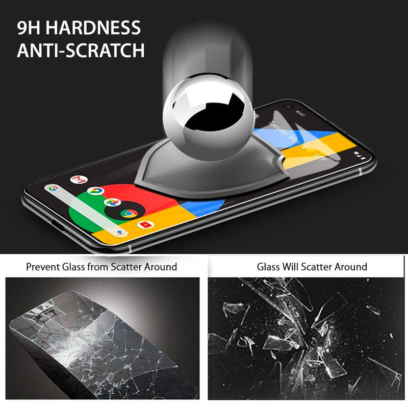 Tough On Google Pixel 4a Tempered Glass Screen Protector