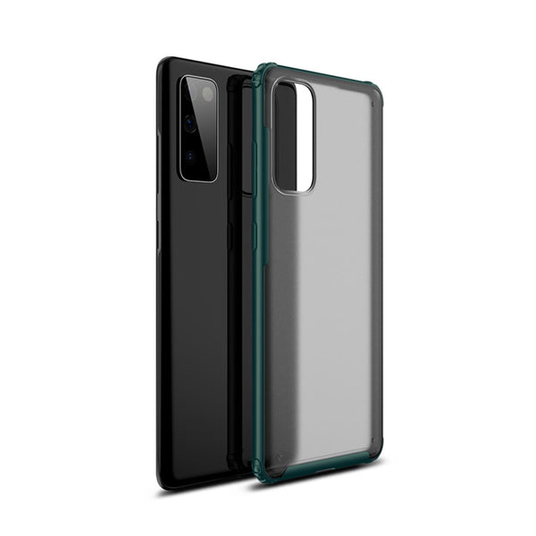 Tough On Samsung Galaxy S20 FE 5G Case Matte Clear Dark Green