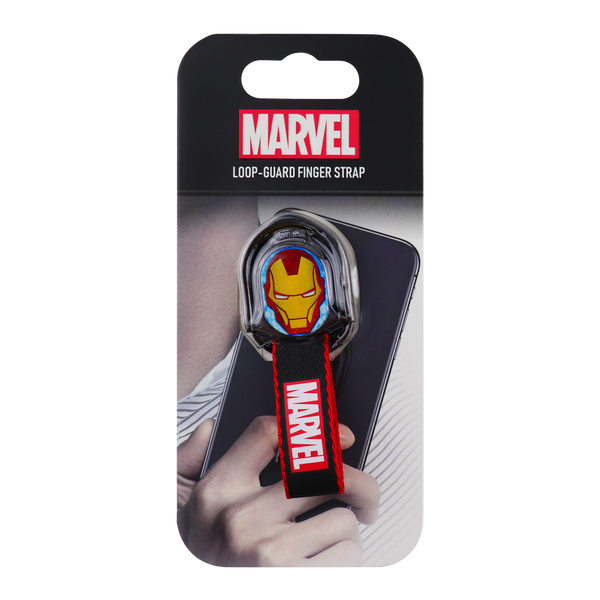 Marvel Iron man Loop Guard Finger Strap