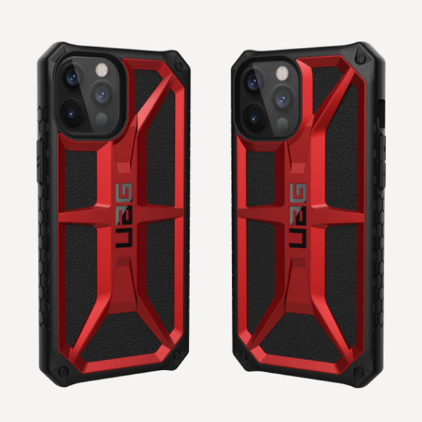 UAG iPhone 12 Pro Max Case Monarch Crimson