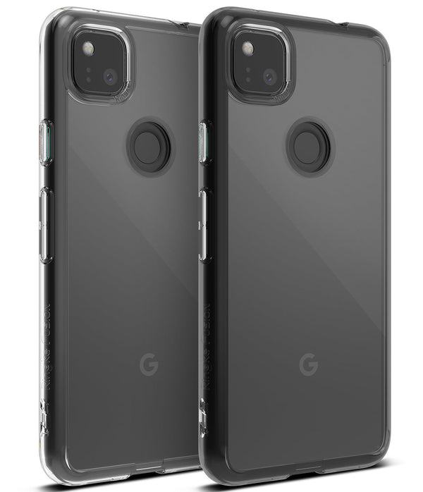 Google Pixel 4a Case Ringke Fusion - Clear