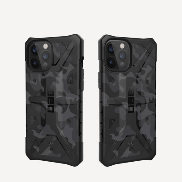 iPhone 12 / iPhone 12 Pro Case UAG Pathfinder Midnight Camo