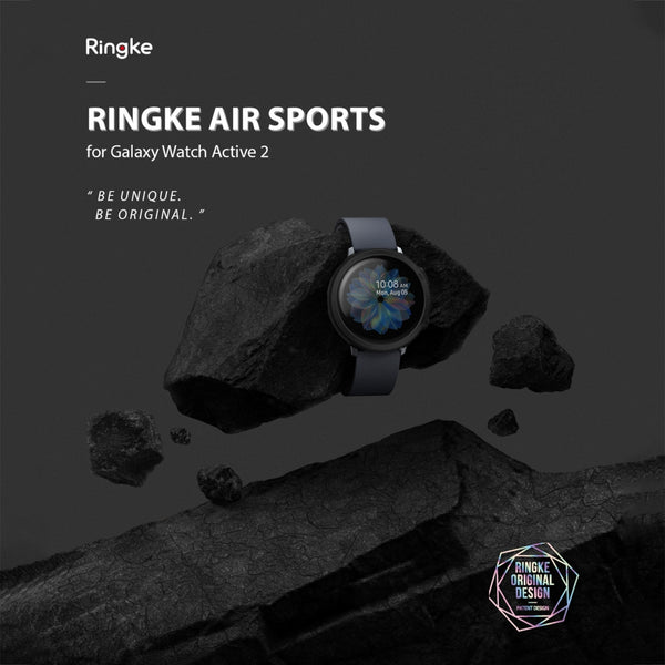 Ringke Galaxy Watch Active 2 44mm Case Air Sports Matte Clear