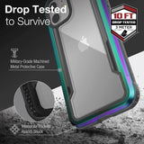 X-doria iPhone 12 mini Case Raptic Shield Iridescent