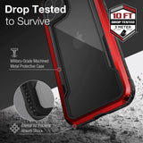 X-doria iPhone 12 Pro Max Case Raptic Shield Red