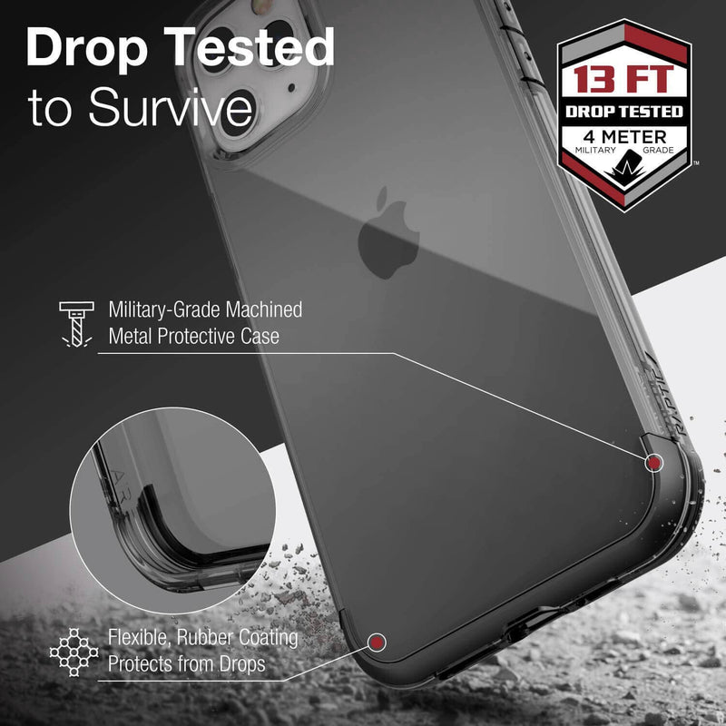 iPhone 12 Pro Max Case X-doria Raptic Air Black