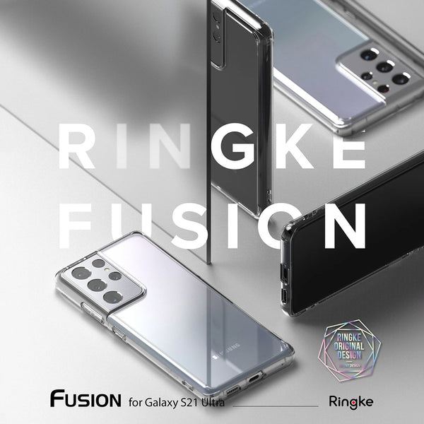 Ringke Samsung Galaxy S21 Ultra Case Fusion Clear