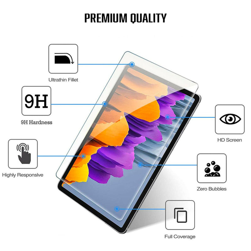 Tough On Samsung Tab S7+ 12.4 inch Tempered Glass Screen Protector