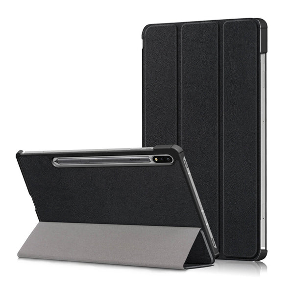 Tough on Samsung Galaxy Tab S7 Case Smart Cover Black