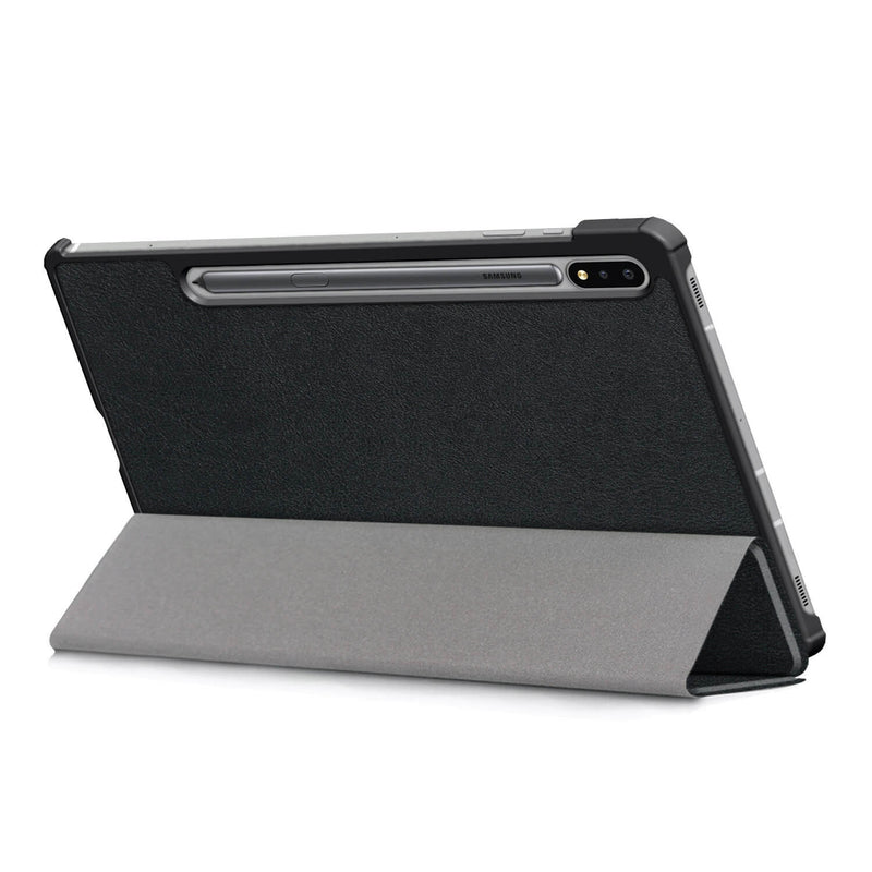 Tough on Samsung Galaxy Tab S7+ Case Smart Cover Black