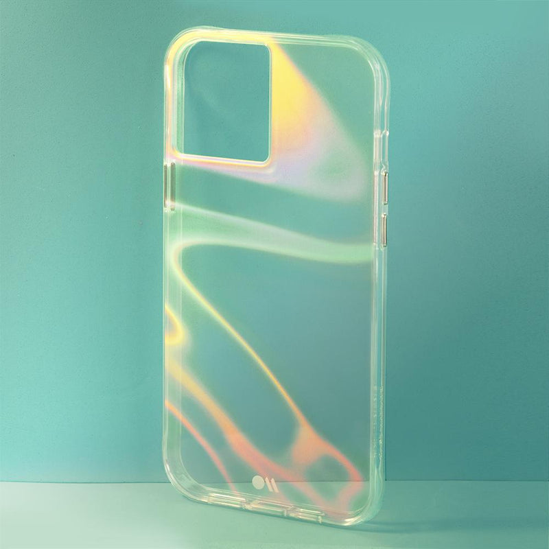 iPhone 12 Pro Max Case Case-Mate Tough Soap Bubble