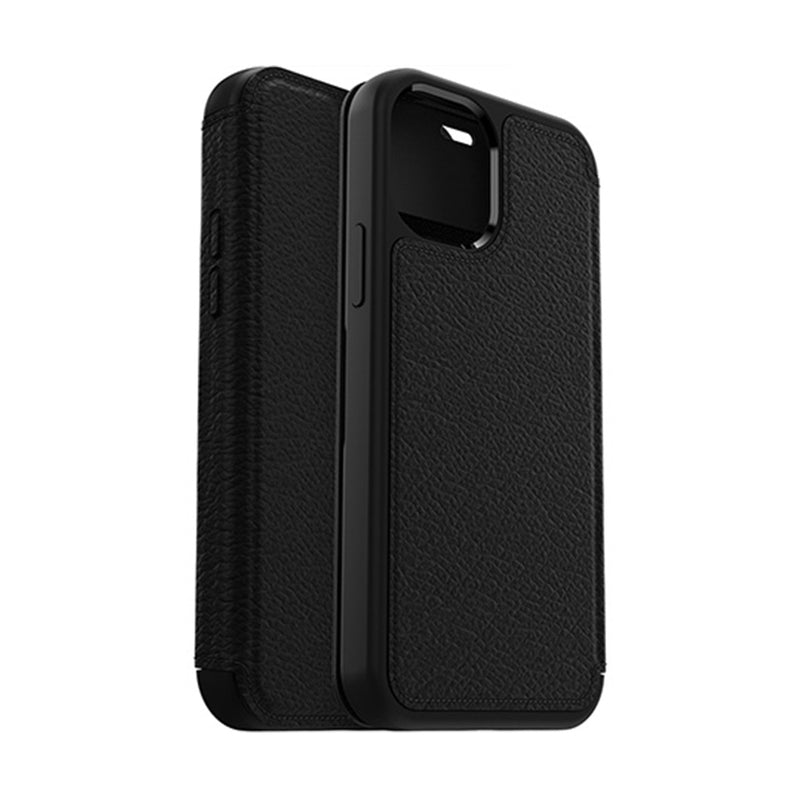 iPhone 12 / iPhone 12 Pro Case OtterBox Strada Shadow Black