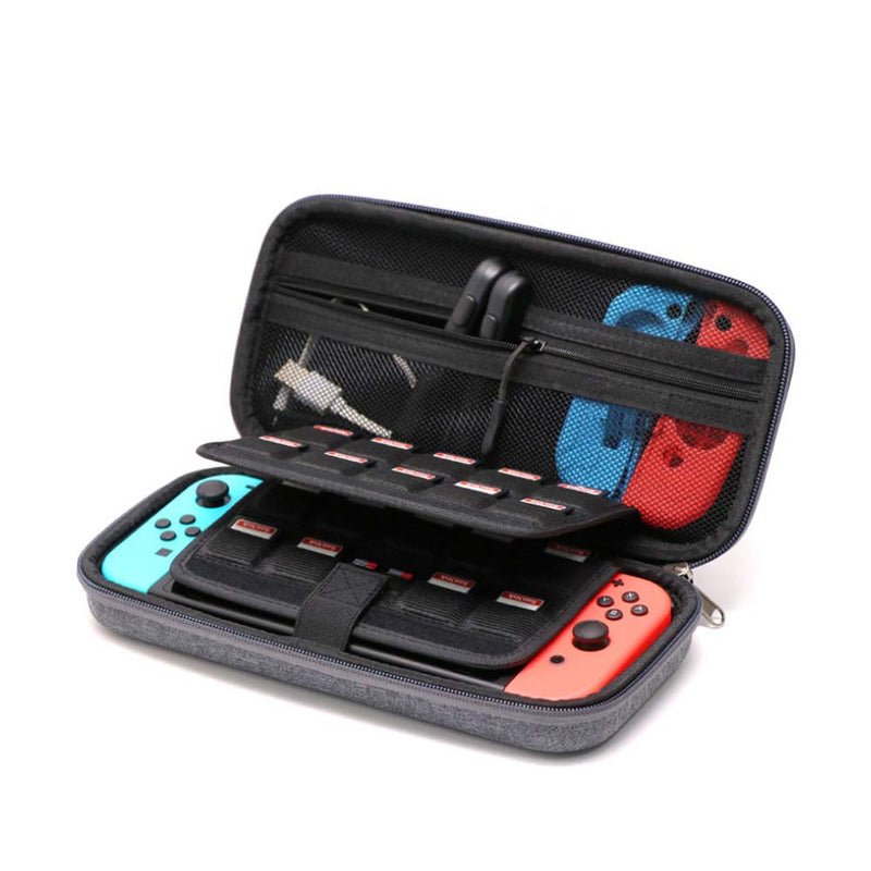 Nintendo Switch Carry Bag Tough On GH1759 Grey