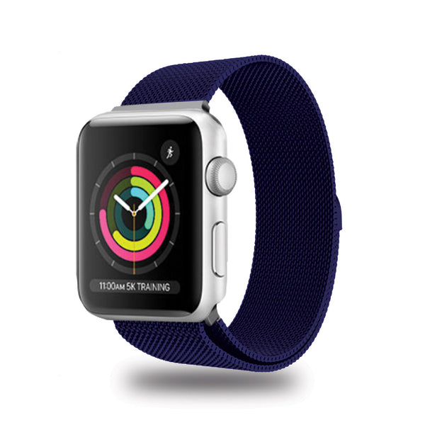 Apple Watch Band Tough Strap Aluminium Blue