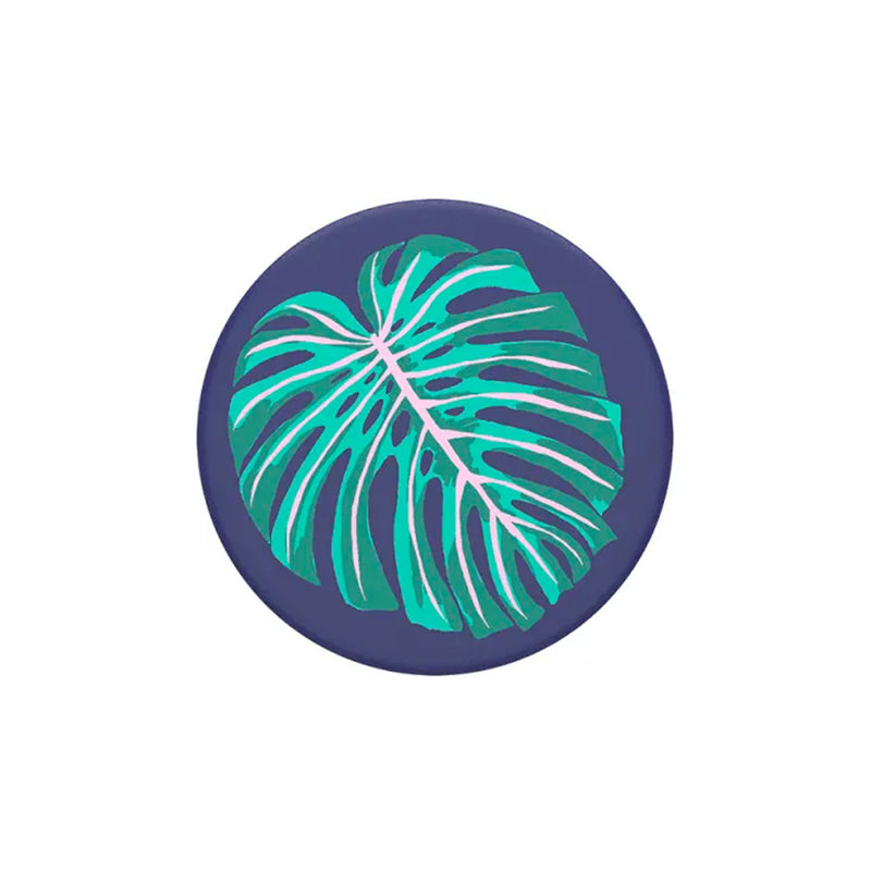 PopSockets PopGrip Swappable PopTop Vintage Palm Leaf