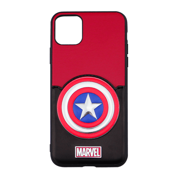 iPhone 11 Marvel Back Slot Case Captain America